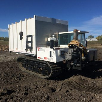 Morooka MST 800VD with enclosed