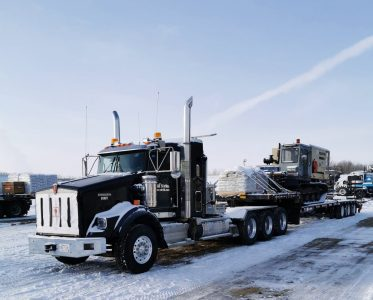 We're welcoming our newest Fleet member, Unit 007 a Kenworth T800 Heavy Spec Tri-Drive suited up for heavy haul this unit will help assist us in our growing HDD Geotechnical