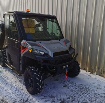 2019 Polaris Ranger 900 H.O 3 Seater, Cold weather package with heated cab.
