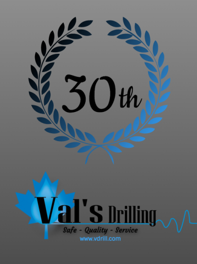 This month we are drilling past another outstanding milestone of 30 years in business! This is an accomplishment we are extremely proud of! Special thanks to everyone who has continually contributed to our success!