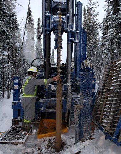 Geotechnical Drilling in Northern Alberta with Rig 450. We absolutley love winter drilling programs. Our pride and joy is providing the best turnkey solutions to our clients, no matter what mother nature has in store.