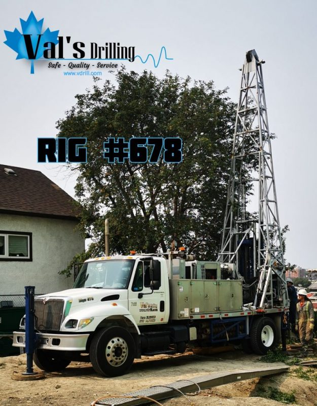 We've added Rig 678 to our fleet this year to help support  our clients with truck mount Geotechnical & Environmental Drilling.